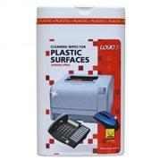Čistící ubrousky na plasty