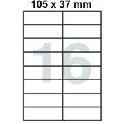 Samolepící etikety 105 x 37 mm