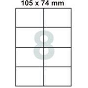 Samolepící etikety 105 x 74 mm