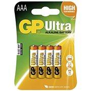 Baterie alkalická ULTRA, AAA, 1.5V