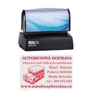 Razítko samobarvící Colop EOS 55 modré