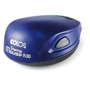 Razítko samobarvící Stamp Mouse R30 - modré