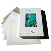 SLW (A3) - matná bílá samolepka