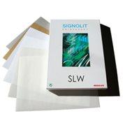 SLW (A4) - matná bílá samolepka