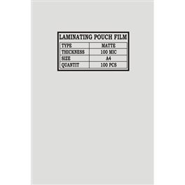 Laminovací fólie A4, 100 mic., matná