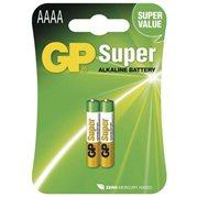Baterie alkalická SUPER, AAAA, 1.5V