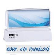 Razítko samobarvící Colop EOS 25 modré