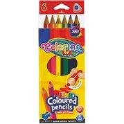 Pastelky Colorino jumbo, trojhranné, 6 ks