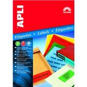 Samolepící etikety 1 etiketa/arch (210 x 297 mm) MODRÉ